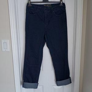 Karl Lagerfeld EUC Dark Wash High Rise Jeans